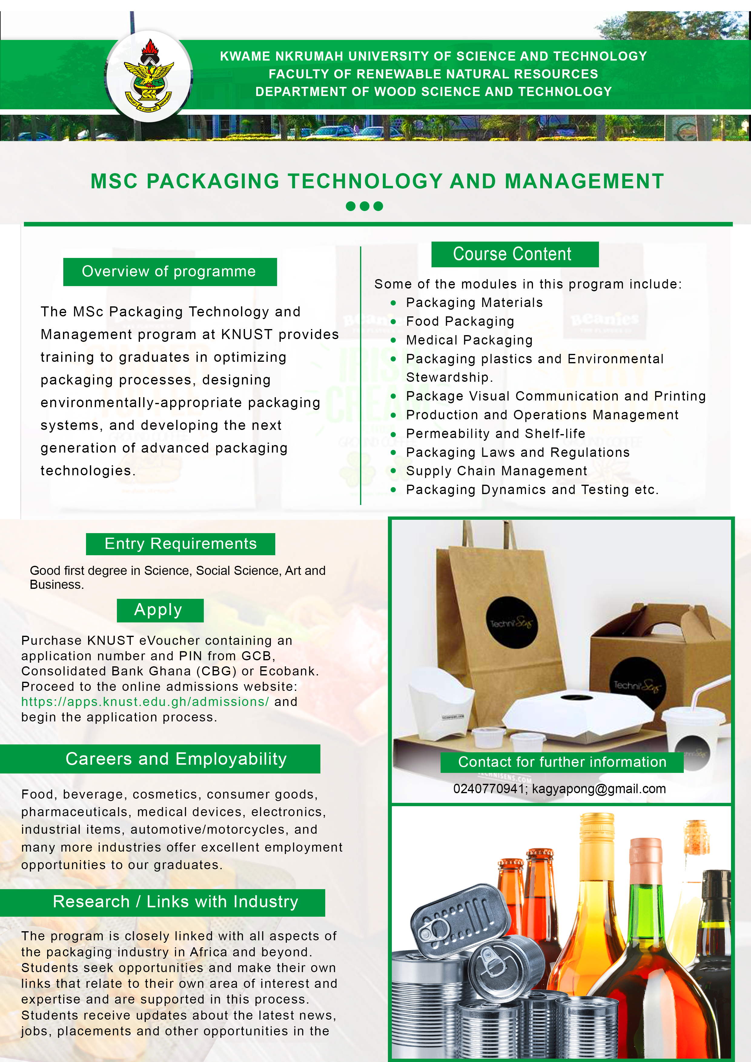 MSc. Packaging